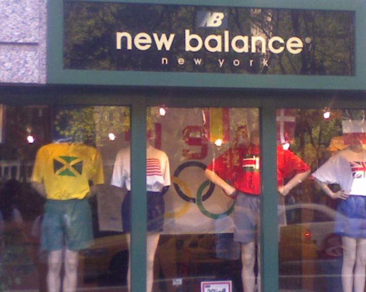 Times sq new Balance store Olympics gear